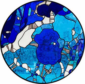 Синий витраж