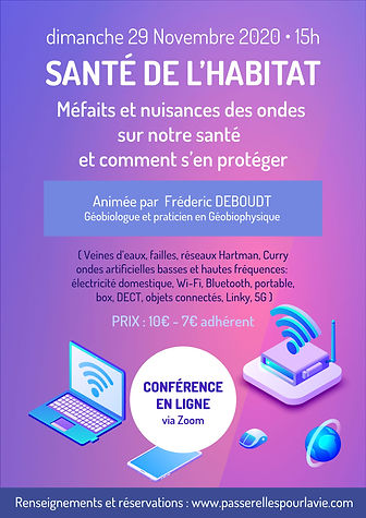 CONf en ligne 29 novembre avec passerell