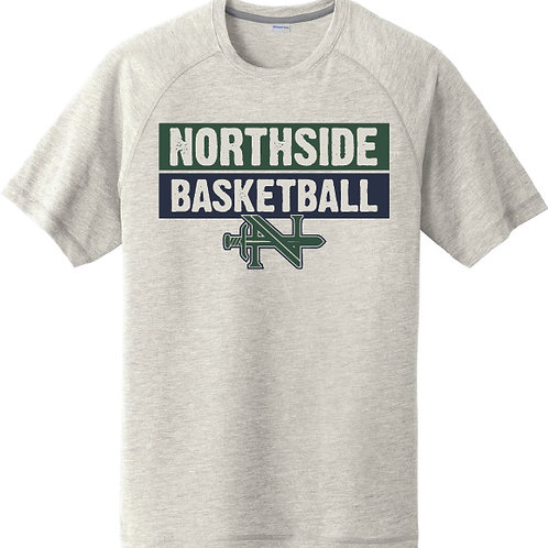 Northside Basketball Raglan