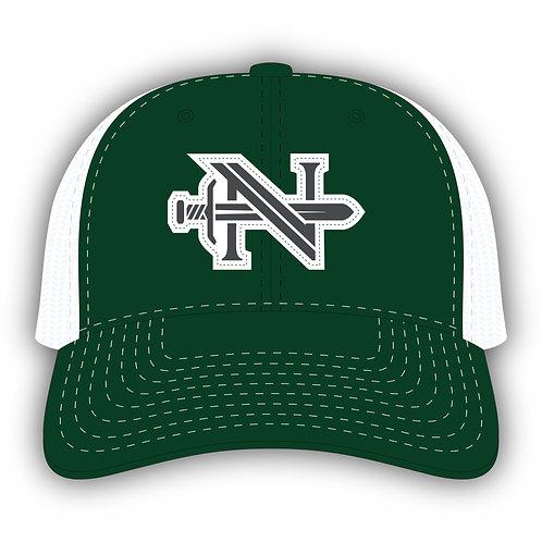 Logo Hat Green with grey Logo