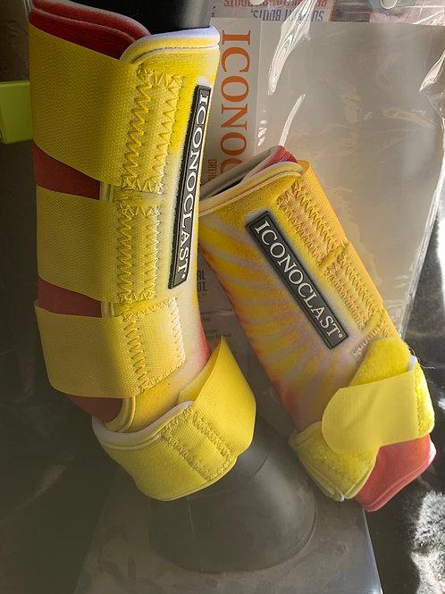 Front medium yellow starburst