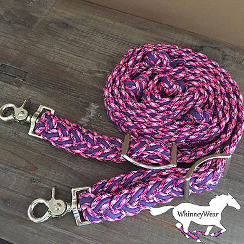 Country girl pink reins