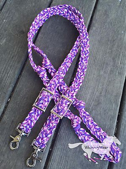 Aloha purple reins!