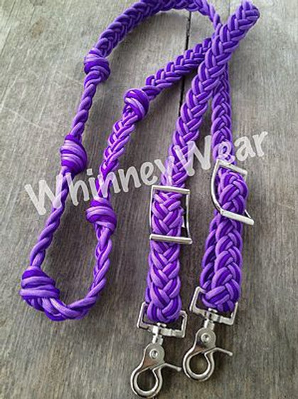 lilac and Purple reins!