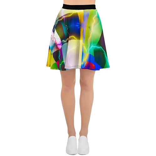 Art Skater Skirt- Color Shock