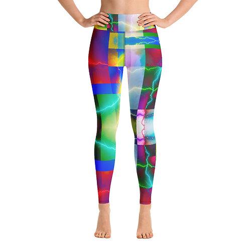 Art Yoga Leggings- Color Shock