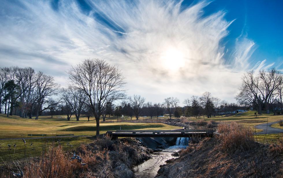 Washtenaw Golf Club. Ypsilanti,  Michigan. 03 February 2020, 4:19 P.M.