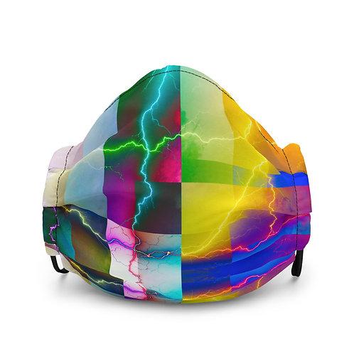Premium art face mask- Color Shock