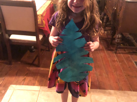 Week 4, Day 1: Palm Leaves for Palm Sunday