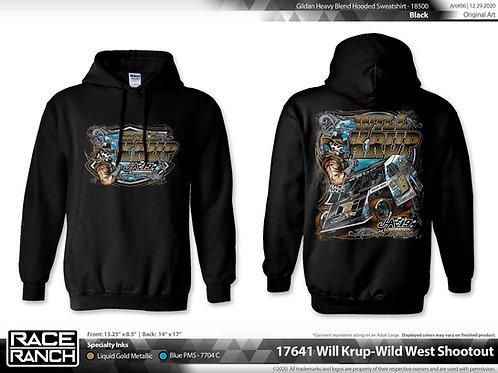 JHA Motorsports: Will Krup Wild West hoodie