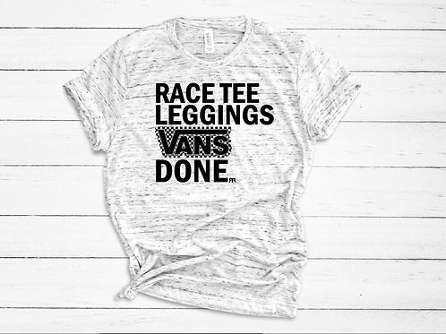 RRW - Race Tee * Leggings * Vans