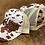 Thumbnail: RRW - Race Ranch Brown / Khaki Cow Ponytail Patch Hat