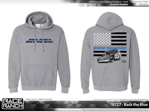 JHA Motorsports: Back The Blue 2.0 Hoodie