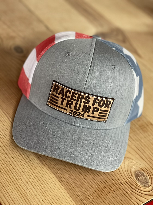 RRW - Richardson 112 Racers For Trump Stars and Bars Patch Hat