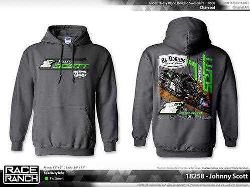 Johnny Scott Racing: El Dorado hoodie