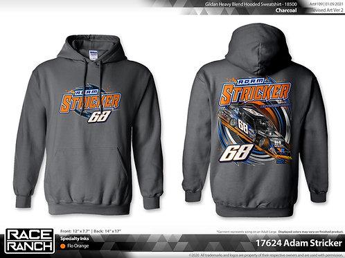 Adam Stricker Racing: Back in Black hoodie