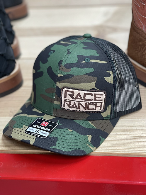 RRW - 112 Race Ranch Camo Patch Hat
