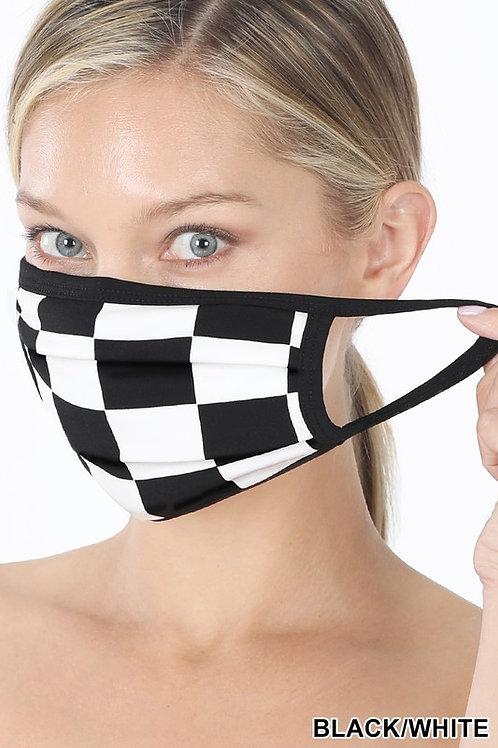 Checkered Flag Mask