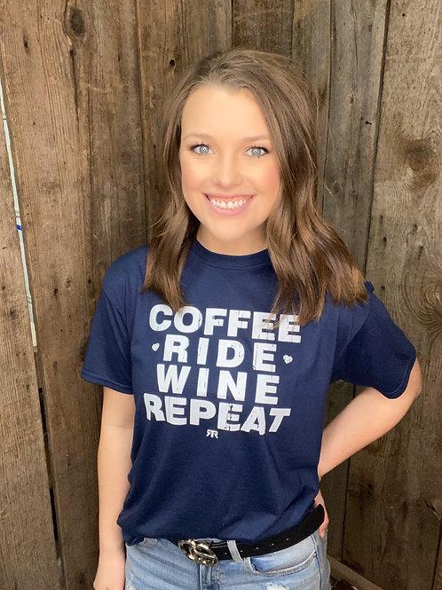 RRW - Coffee - Ride - Wine - Repeat