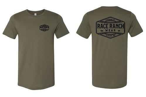 RRW - Race Ranch Clothing Co  (black logo)