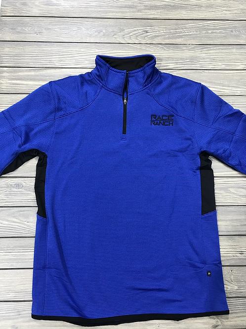 RRW- Blue Race Ranch 1/4 Zip