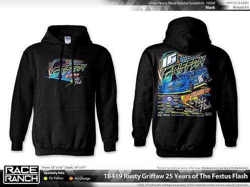 Rusty Griffaw Racing: 25 Years of the Flash Hoodie