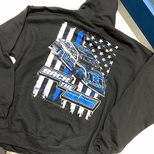 JHA Motorsports: Back The Blue Hoodie