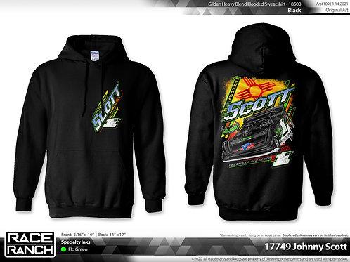 Johnny Scott Racing: Roots hoodie