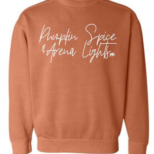 RRW - Pumpkin spice arena lights (crew neck)