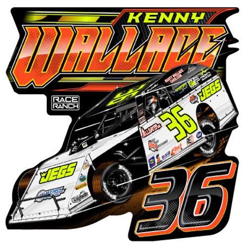 Kenny Wallace Racing - 36 Decal
