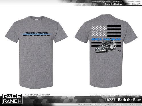 JHA Motorsports: Back The Blue 2.0 Tee
