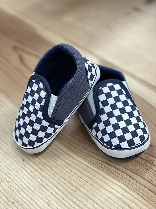 Baby Vans  - Navy and White