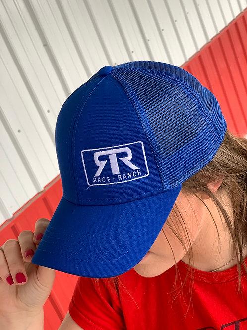 RRW - Race Ranch Blue mesh snapback