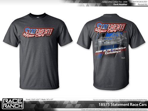 Statement Racecars: Stockclip Rocketships tee