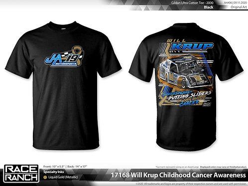 JHA Motorsports: Childhood Cancer awareness