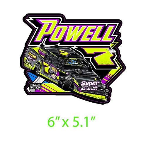 Powell Motorsports - Decal