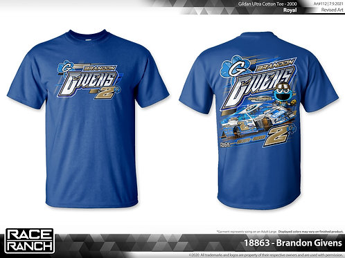 Brandon Givens - Cookie Monster Tee Blue