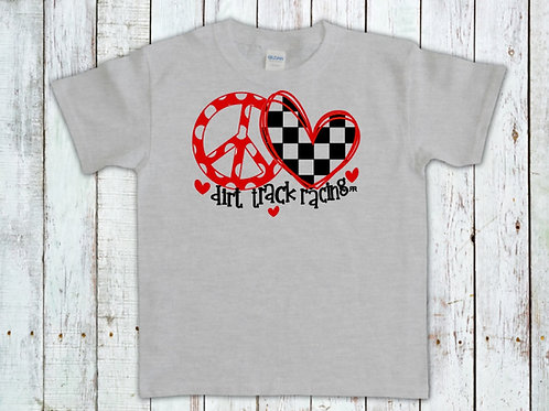 RRW - Youth - Peace Love and Dirt Track Racing
