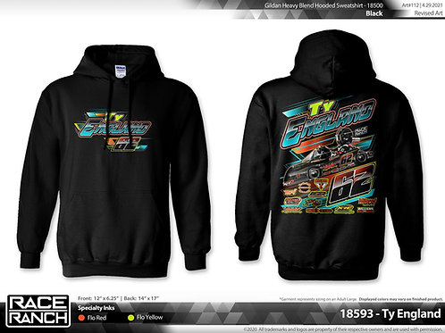 Ty England Motorsports - 2021 hoodie