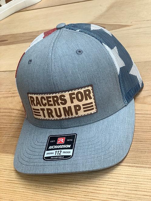 RRW - Richardson 112 Racers For Trump Patch Hat