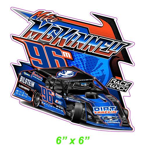 Mike Mckinney Motorsports - Decal