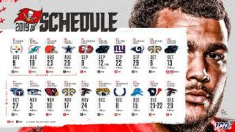 O'scursions Tampa Bay Bucs Schedule
