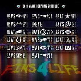 Miami Dolphins Schedule