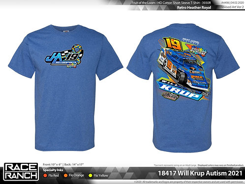 JHA Motorsports: Will Krup Autism Awareness Tee
