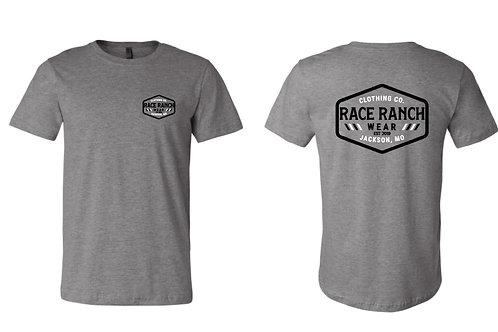 RRW - Race Ranch Clothing Co  (black/white logo)