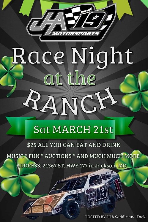 Race Night At The Ranch