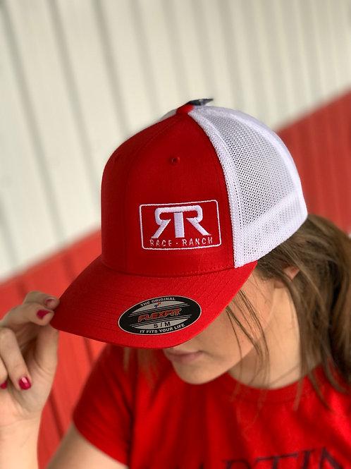 RRW - Race Ranch Red/White Flexfit