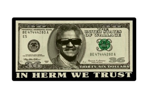 Kenny Wallace Racing - In Herm We Trust Decal