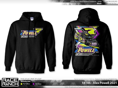 Powell Motorsports - 2021 diggin Hoodie