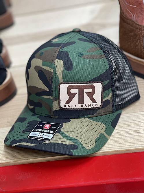 RRW - Richardson 112 Camo Double R Patch Hat